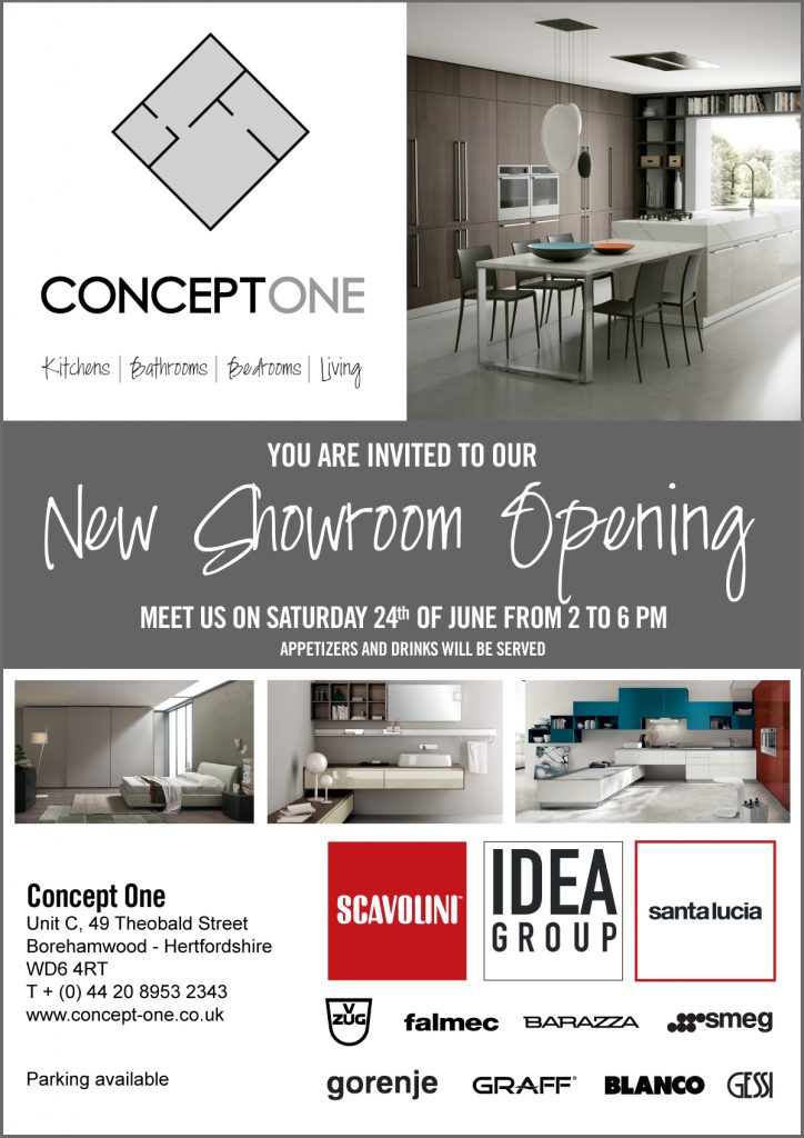 New Showroom Opening - Concept One | Unique Residential ...